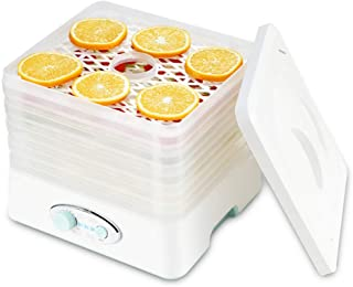 Máquina de conservación de alimentos para el hogar Secador de frutas, deshidratador de alimentos silencioso, ajustable con temperatura electromecánica, con horno de secado de bandejas de 5 capas, adec