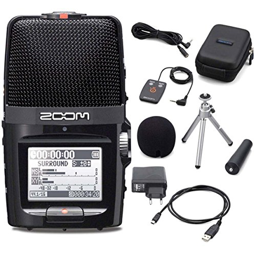 Zoom H2n - Registratore palmare + D-card 2 GB + set accessori AH-2n