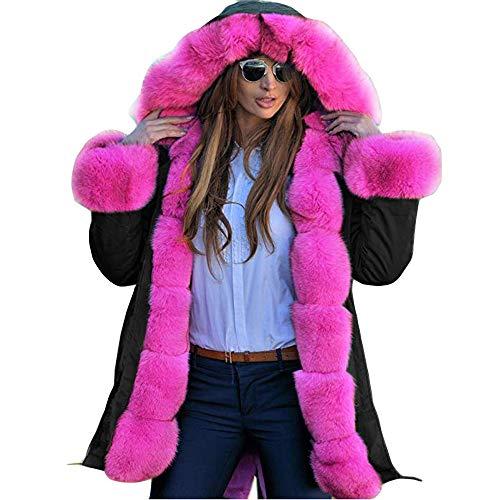 Vectry Wintermantel Damen Tarnung Parka Mit Kapuze Lightweight Warme Jacke Mantel Große Größe übergangsjacke Lang Cardigan Trenchcoat