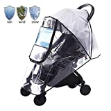 Diagtree Stroller Rain Cover Universal, Baby Travel Weather Shield,...