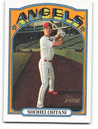 2021 Topps Heritage #245 Shohei Ohtani NM-MT Los Angeles Angels Baseball