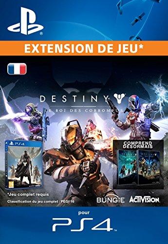 Destiny : Le Roi des Corrompus [Extension De Jeu] [Code Jeu PSN PS4 - Compte français]