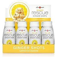 12-Pack The Ginger People Rescue Shots, Lemon & Cayenne, 2 Fl. Oz.