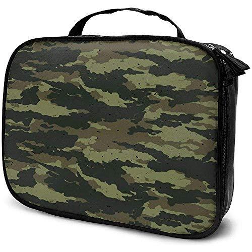 Camouflage Fond Sac de Maquillage Étui à cosmétiques Portable Grande capacité Organisateur cosmétique Durable