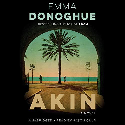 Akin audiobook cover art