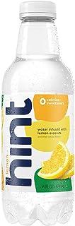 Hint Water Lemon (Pack of 12) 16 Ounce Bottles Pure Water Infused with Lemon Zero Sugar Zero Calories Zero Sweeteners Zero...