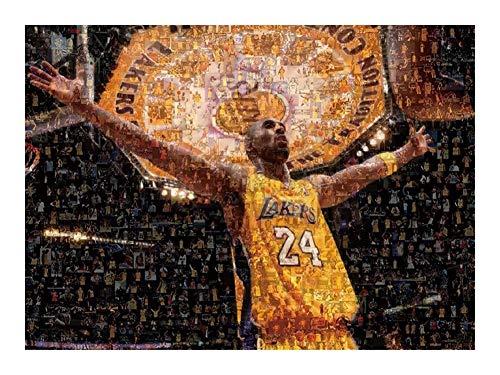 Puzzle-a Rompecabezas NBA 24 for siempre de baloncesto Kobe Bryant Leyenda - 300/500/1000 Pieza for adultos adolescente - regalo adecuado for adolescentes y adultos Puzzle-a (Color : 300pieces)