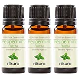 100% Pure Peppermint (Piperita) Essential Oil 10ml, 50ml, 100ml (3 x 10ml)