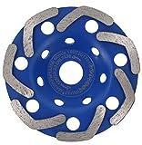 PRODIAMANT Premium - Disco de lija de diamante (125 x 22,2 mm, cabezal de lijado de diamante de 125 mm)