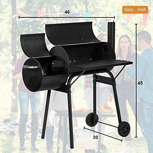 518ibz0YlyL - KDKDA Charcoal Grill Premium-Holzkohlegrill aus Gusseisen Grill Großen Picknick Patio Grill Barbecue im Freien beweglichen Grill Grill Heim Geschmorte Grills for mehr als 5 Personen