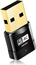 Best USB WiFi Adapter, AC600 Mini Wireless Network WiFi Dongle for PC/Desktop/Laptop, Dual Band (2.4G/150Mbps+5G/433Mbps) 802.11 ac, Support Windows 10/8/8.1/7/Vista/XP, Mac OS 10.6-10.15 Review