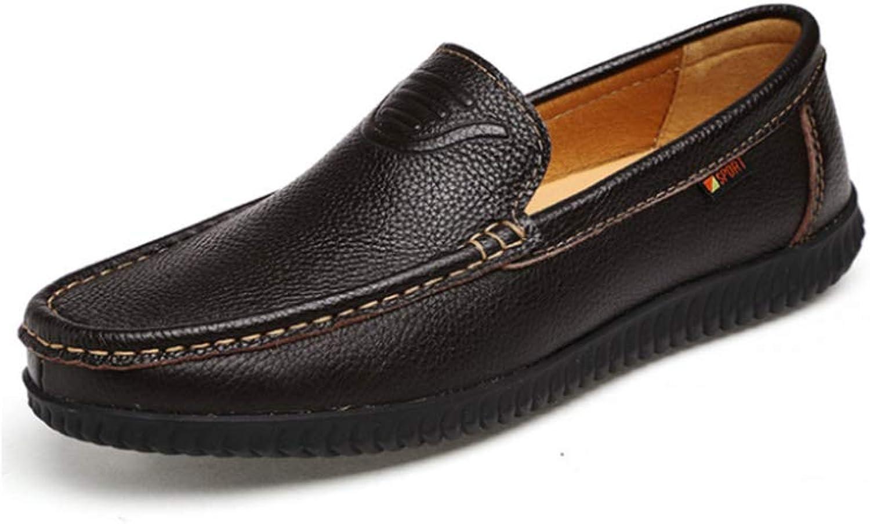 Men'S Peas shoes Business Flat shoes Fashion Set Foot Men'S shoes Outdoor Leisure Driving shoes