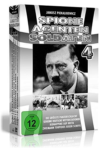 Spione, Agenten, Soldaten - Box 4 (4er - Schuber) [4 DVDs]