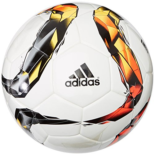 adidas Herren Fußball DFL Torfabrik Competition, white/solar red/black/solar orange, 5, S90203