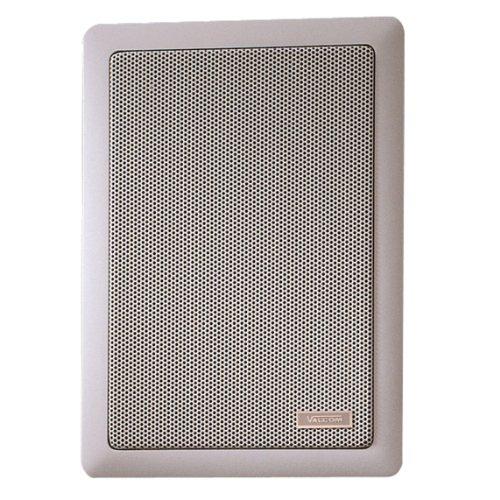 VALCOM Signature Series in-Wall 6W White Loudspeaker–Loudspeakers (Universal, 2-Way, in-Wall/in-Ceiling, Closed, Satellite, Built-in)