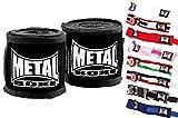 METAL BOXE - Vendas de Boxeo, Color Rojo, Talla 2,50