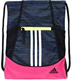 adidas Alliance II Sackpack (One Size, Legend Marine Looper/Real Magenta/Hi-Res Yellow)