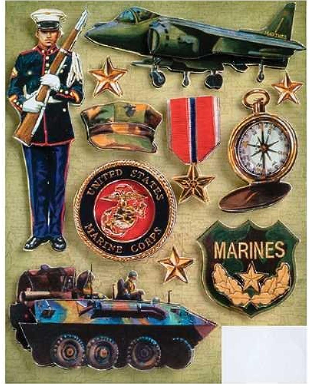 K&Company Marine Grand Adhesions Stickers by K&Company B0149H8JMA   Verschiedene Stile und Stile