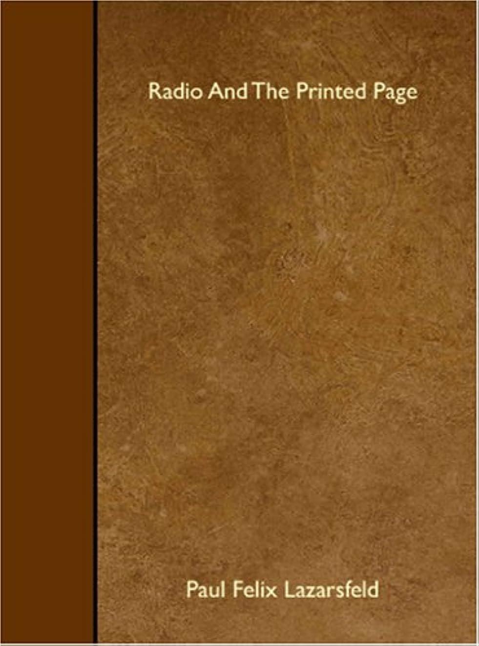 蓄積するファーザーファージュクルーズRadio And The Printed Page