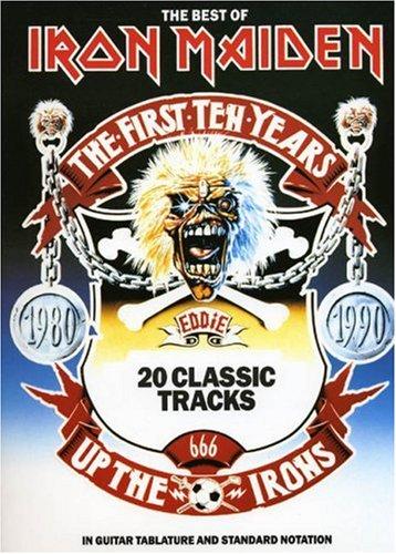The Best Of Iron Maiden (Album): Songbook, Grifftabelle für Gitarre