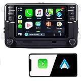 SCUMAXCON Car Stereo Carplay Androidauto MIB2 6.5' RCD360 Pro Bluetooth RVC USB Touchscreen for VW Jetta Tiguan Passat Caddy Golf EOS Passat Touran