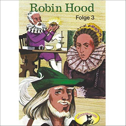 Robin Hood 3 audiobook cover art