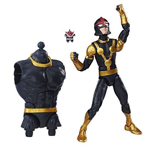 Marvel Guardians of The Galaxy Legends Series - Figura Decorativa de niño de Marvel Nova (6 Pulgadas)