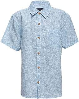DJ & C By Fbb Sky Blue Printed Casual Shirt