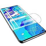 SOMEFUN【2 Piezas】Protector de Pantalla Compatible con Huawei Nova 5T 6.26Pulgadas Película de Hidrogel de TPU Suave de Cubierta Completa [Vidrio no templado,Transparente]