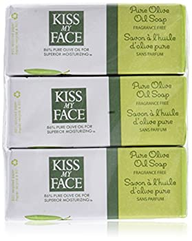 Kiss My Face Bar Soap Pure Olive Oil 8 OZ  6 pack