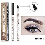 Augenbrauen Tattoo Stift für Augen Make up Bleistift mit einem Micro Fork Tip-Applikator - 24...