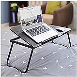 Faltbarer Hölzerner Laptop-Schreibtisch Tragbarer KlappBarer Computer-Schreibtisch Bett-Caballer-Ständer-Studientisch Für Frühstücksbett-Tablett-Putrertisch (Color: B) LingGe (Color : B)