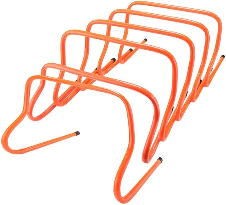 敏捷性ハードル、6個セット、サッカー、ドッグスポーツなどのトレーニング用ハードル、さらに子供用のトレーニング障害としても適している高さ30 cm