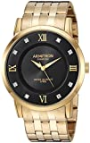 Armitron Men's 20/5251Bkgp Diamond-Accented Gold-Tone Bracelet Watch