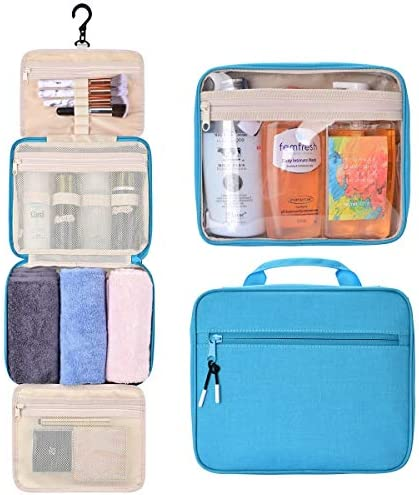 Hanging Toiletry Bag for Women and Men Traveling GM LIKKIE Water Resistant Travel Toiletry Organizer product image
