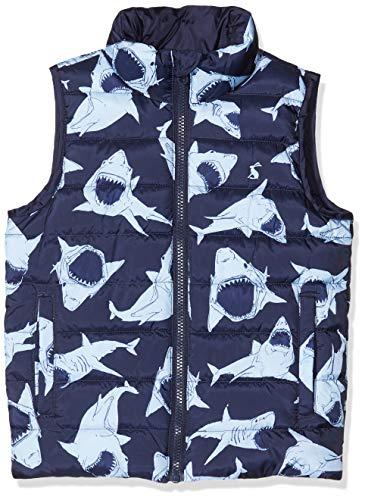 Joules Jungen Flip It Weste, Blau (Blue Shark Blue Shark), 6 Jahre (Herstellergröße: 6)
