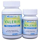 Valerian Natural Relaxant for Tension Relief, Stress Relief, Leg Cramp Relief and Other Muscle Cramps Magnesium, Passion Flower, & Valerian Root Muscle Relaxant - (340ct)
