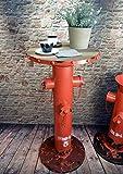Livitat Beistelltisch Bartisch H80cm Hydrant Metall Vintage Industrie Look Loft LV5053