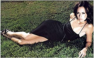 Jennifer Love Hewitt 8 x 10 Photo Ghost Whisperer Criminal Minds I Know What you Did Last Summer Lying on Grass in Skimpy Black Dress kn