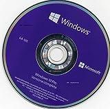 Windows 10 Pro DVD 64 Bit - Originale - Utile per Installare Ripristinare o Riparare il Sistema Operativo