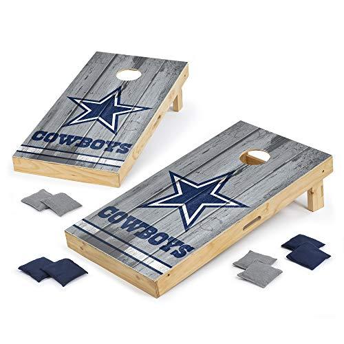 PROLINE NFL Dallas Cowboys 2'x4' Cornhole Board Set - Vintage Design