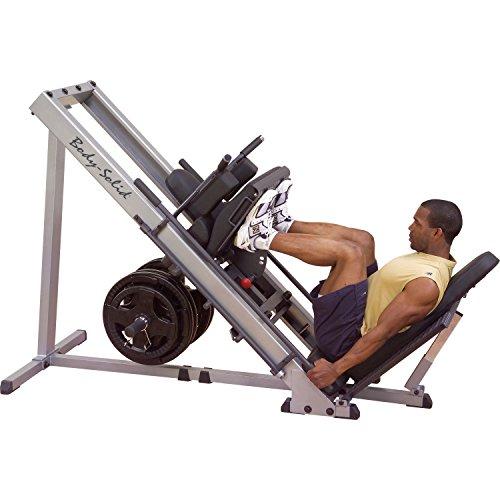 Bodysolid Presse à cuisses & Hack squat GLPH1100