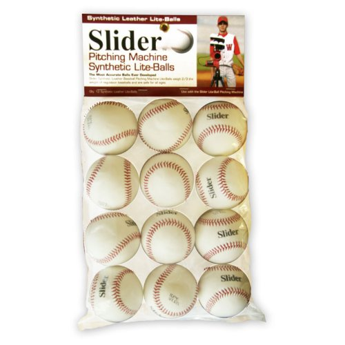 Heater Sports SLB49 Slider Synthetic Leather Pitching Machine Lite-Balls