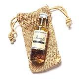 Honeyzen Botanicals Aceite facial 100% natural, orgánico, 40 ml, con vitamina E, aceite de rosa mosqueta, aceite de argán, aceite de jojoba y aceites esenciales de lavanda y bergamota, pétalos de rosa
