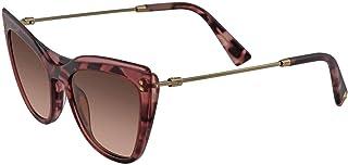 Sunglasses Valentino VA 4043 510513 Trasparent Pink/Havana Pink, 52/19/140