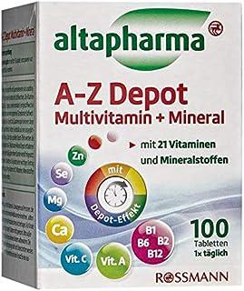 altapharma A-Z Depot Multivitamin  Mineral- 138 g, 100 Tabletten 1er Pack