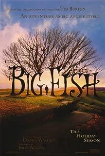 Big Fish Poster Movie 27x40 Ewan McGregor Albert Finney Billy Crudup