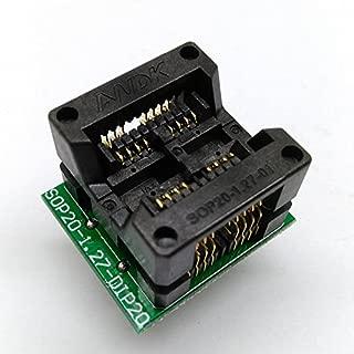 Double SOP8 SOIC8 SO8 Programming Socket Pin 16 Pitch 1.27mm IC Body Width 5.4mm 209mil Flash Test Socket Adapter