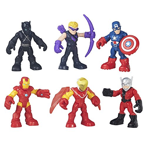 Product Image of the Playskool Heroes Super Hero Adventures Captain America Super Jungle Squad