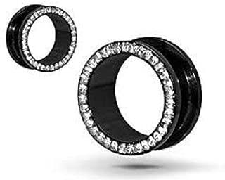 black anodized steel